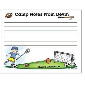 Pen At Hand Stick Figures   Camp Postcards (Sport   Lined   Full Color