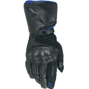 Sports Bike Racing Motorcycle Gloves   Blue/Black / Small Automotive