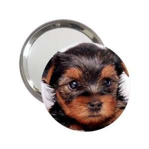 Yorkshire Terrier Puppy Dog 8 Handbag Makeup Mirror K0655