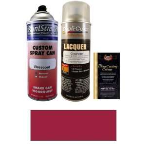 12.5 Oz. Dark Red Pearl (Cladding) Spray Can Paint Kit for