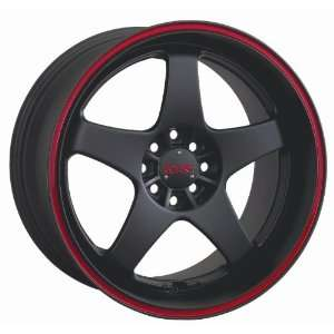 XXR 962 Black Wheels Rims 08 Honda Fit Toyota Yaris SET OF 17 INCH XXR