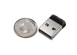 SanDisk 16GB 16G Cruzer Fit Micro USB Flash Pen Drive Memory Stick