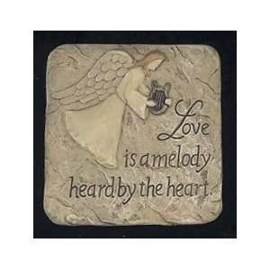 Magnet Mini plaque ~ Love Is a Melody Heard By the Heart