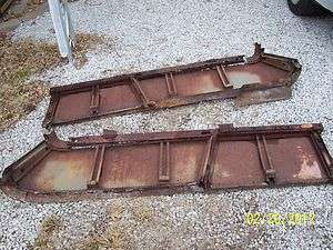 1961 1962 1963 1964 1965 Ford Falcon Sedan Delivery Rear Side Panels 1