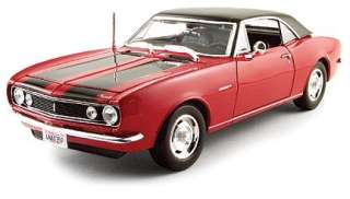 MAISTO 31686 RED 118 1967 CHEVROLT CAMARO Z28 COUPE DIECAST MODEL CAR