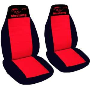 1988 Ford Mustang LX coupe seat covers. One front set of seat covers