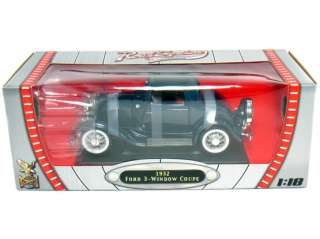 YAT MING 118 1932 FORD 3 WINDOW COUPE DIECAST BLUE