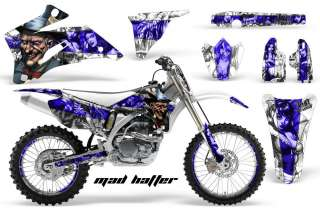 STICKER BACKGROUND GRAPHIC DECAL YAMAHA YZ450F YZ YZ250F 06 09 MHWSU