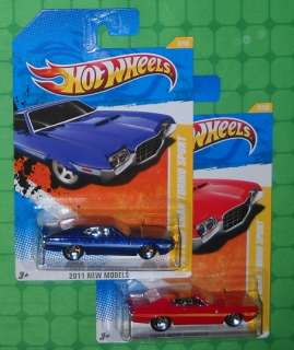 2011 Hot Wheels New Models FORD GRAN TORINO SPORT x 2