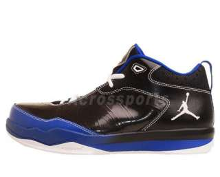 Nike Jordan Pro Quick Black Patent Blue 2012 Mens Basketball Shoes