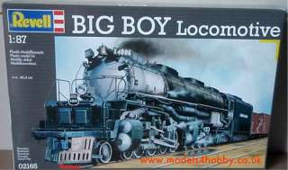 Revell Model Kit   Big Boy Locomotive Train 02165   New