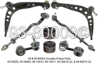 BMW 318i, 323i, 325i, 328i, Z3 E36 Front Control Arm, Tie Rod, End