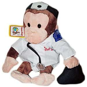 Plush 11 Doctor Curious George the Monkey Doll Toys