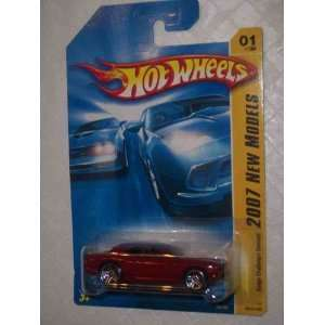 Concept Dark Red #2007 01 Collectible Collector Car Mattel Hot Wheels