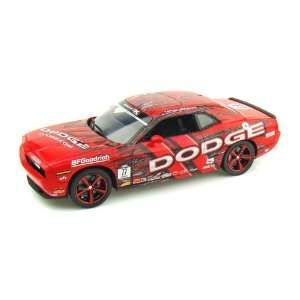 2010 Dodge Challenger SRT8 Hubinette Drift Car 1/18 Red