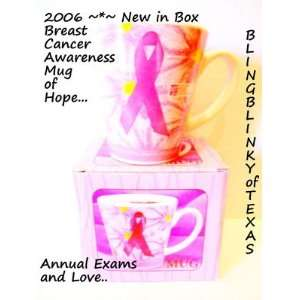 Ceramic Mug National Breast Cancer Foundation Pink Ribbon Giftco Love
