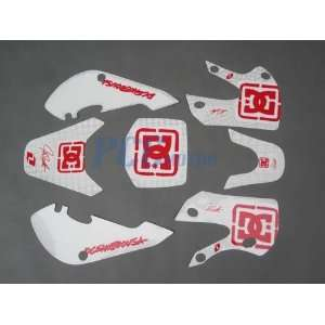 DE30 3M GRAPHIC DECALS STICKER KIT KLX110 110 Everything
