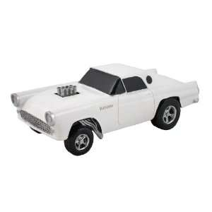 GASSER, WHITE, COLLECTIBLE 118 SCALE MODEL, HOT ROD, STREET ROD, DRAG
