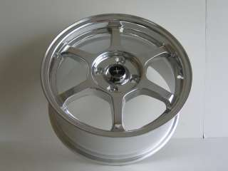 Nippon Racing Wheels Type C 15 Inch Rims 4x100 Silver P