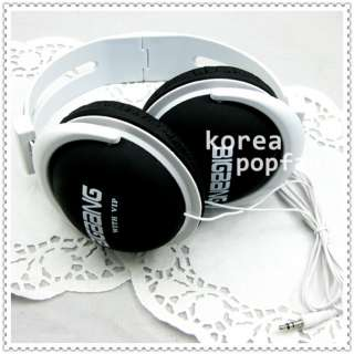 BIGBANG big bang with VIP KPOP BLACK EARPHONES HEADPHONES NEW