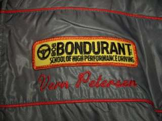 Up for sale is a Very Cool Vintage Nylon Racing Style Jacket with