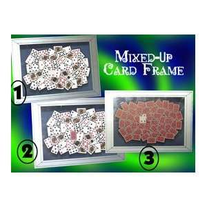 Mixed Up Card Frame   Close Up / Parlor / Magic tr Toys