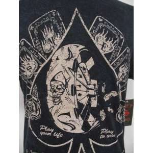 CHRISTIAN AUDIGIER SMET REBORN HOLLYWOOD CASINO MENS TEE