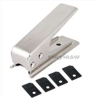 Micro SIM Card Cutter+4 Adapters for Apple iPhone 4 4G 4S iPad