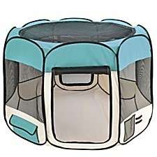 On TV Pet Dog Cat Tent Playpen Exercise Play Pen Soft Crate AsSeenOnTV