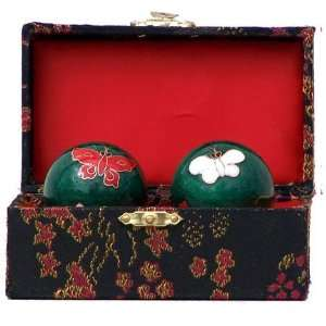 Beautiful Butterfly Health Balls   Chinese Exercise Balls