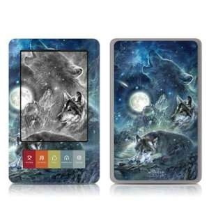 Bark At The Moon Design Protective Decal Skin Sticker for