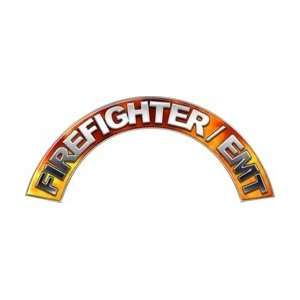 Firefighter EMT Real Fire Firefighter Fire Helmet Arcs / Rocker Decals