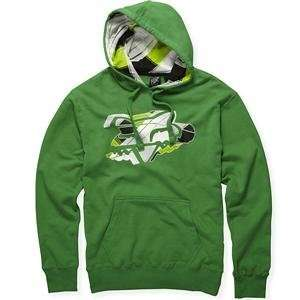 Fox Racing Quasimoto Hoody   2X Large/Kelly Green