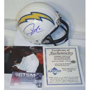 LaDainian Tomlinson San Diego Chargers Autographed White