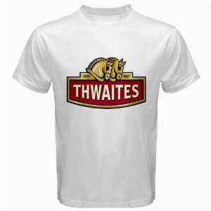 Thwaites Beer Logo New White T Shirt Size  S, M ,L , XL