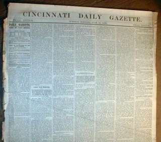 War newspaper Confederate invade MARYLAND & PENNSYLVANIA   GETTYSBURG