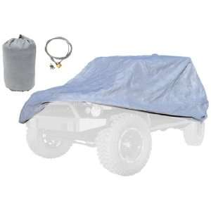 Rugged Ridge 13321.81 Three Layer Full Car Cover with Bag
