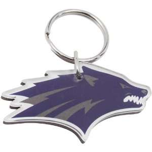 NCAA Nevada Wolf Pack Hi Definition Acrylic Keychain