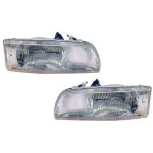 Toyota Previa Replacement Headlight Assembly (without Fog