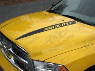 2009 & Up Dodge Ram Hood Spear Decals