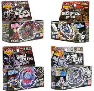 BeyBlade Metal Fusion Fight Starter Sets Lot Launcher 2