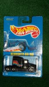 MATTEL HOT WHEELS 1790 KENWORTH BIG RIG SEMI TRUCK COLLECTOR # 76 MOC