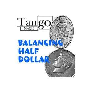 Balancing Coin   Half Dollar, Tango Street Magic t Toys & Games