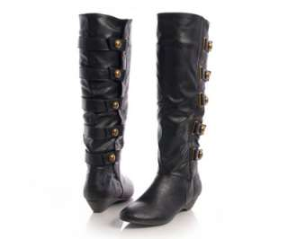 Madden Gril ZHESTY Black Womens Knee High Boots sz NEW