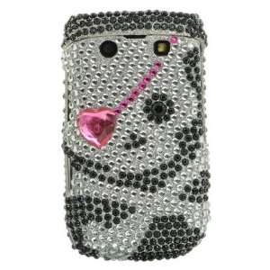 Skull Pink Eyepatch Love Heart Design Cell Phones & Accessories