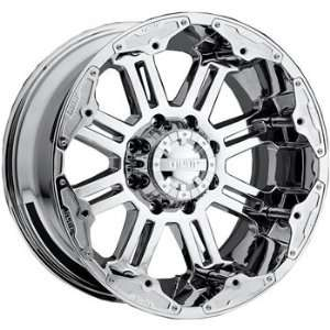 Gear Alloy Full Throttle 22x10 Chrome Wheel / Rim 8x6.5 with a  25mm