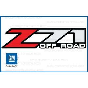 com GMC Sierra Z71 Off Road decals stickers   F (2001 2006) bed side