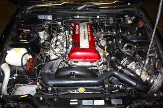 SILVIA S13 FRONT CLIP SR20DET S13 RED TOP ENGINE SWAP HALF CUT