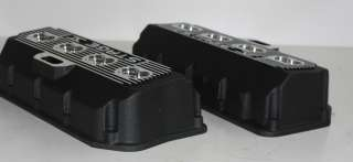 426 CHRYSLER PLYMOUTH DODGE HEMI STAGE V ALUMINUM VALVE COVERS 16 PLUG