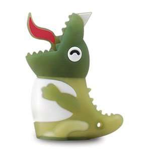New Cute Green Dino 4GB USB Flash Drive